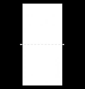 TVホールド(ポケットチーフの折り方)1-2