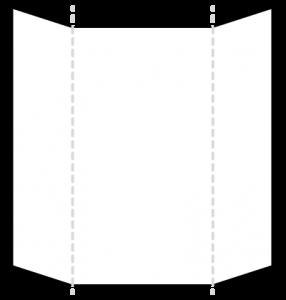 TVホールド(ポケットチーフの折り方)1-3