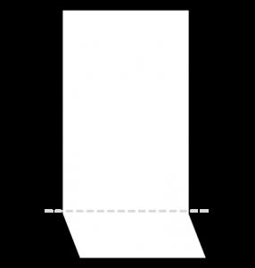 TVホールド(ポケットチーフの折り方)1-4