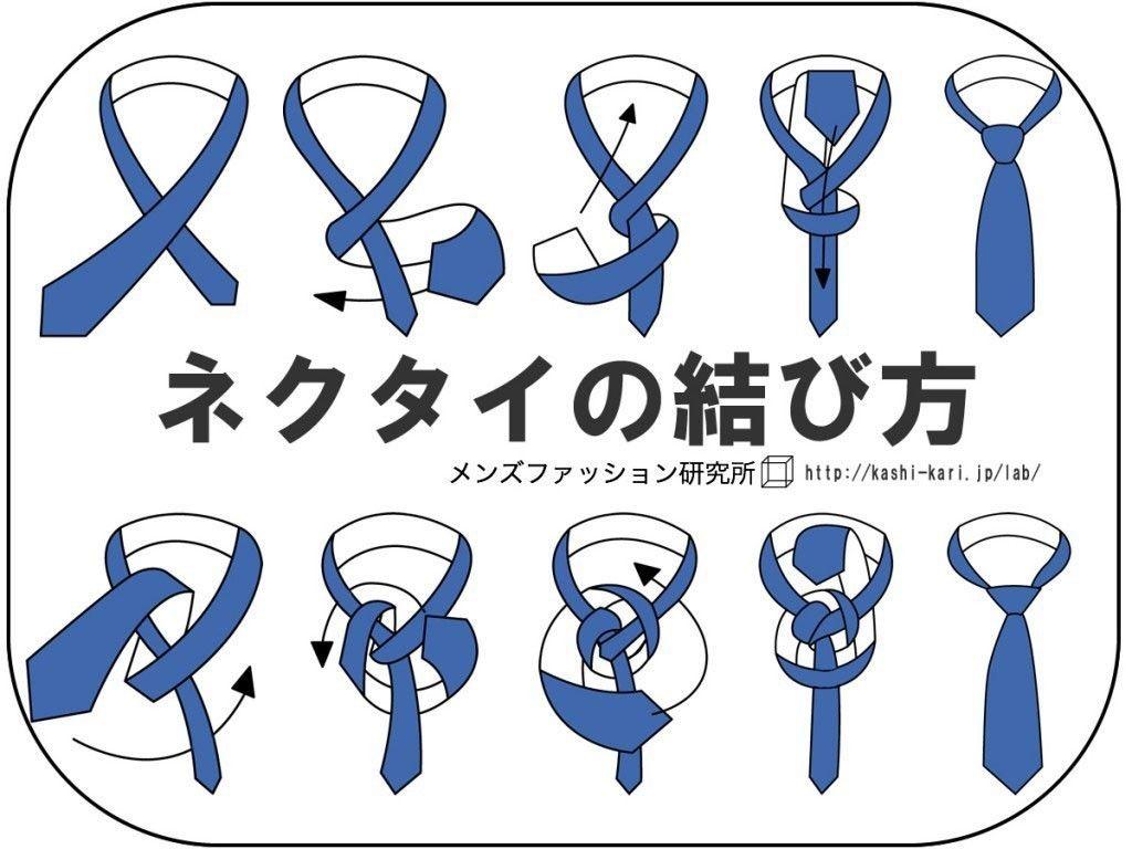 ネクタイの結び方(簡単でおしゃれな締め方)結婚式・就活にも。