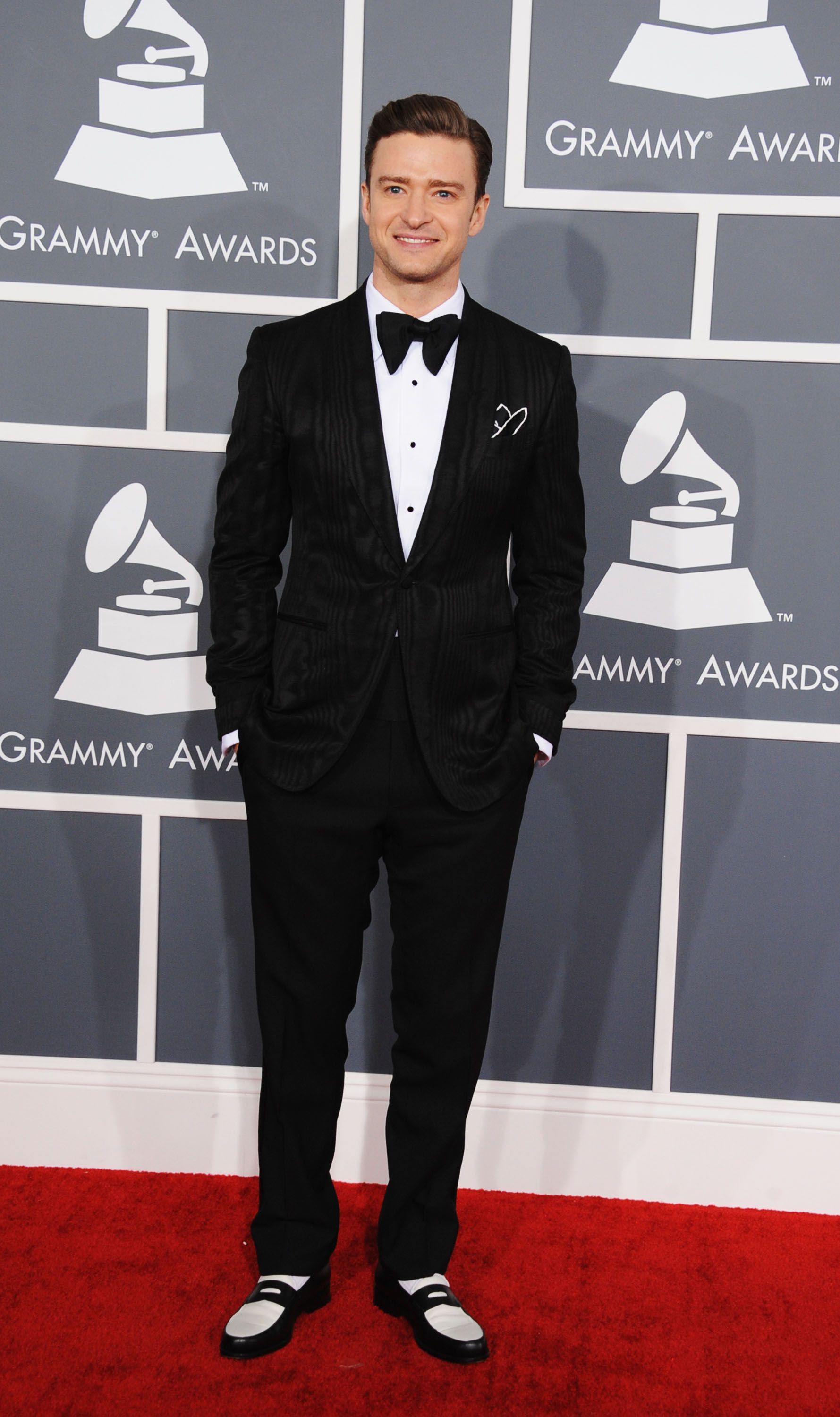LOS ANGELES, CA - FEBRUARY 10: Singer Justin Timberlake attends the 55th Annual GRAMMY Awards at STAPLES Center on February 10, 2013 in Los Angeles, California. (Photo by Steve Granitz/WireImage)