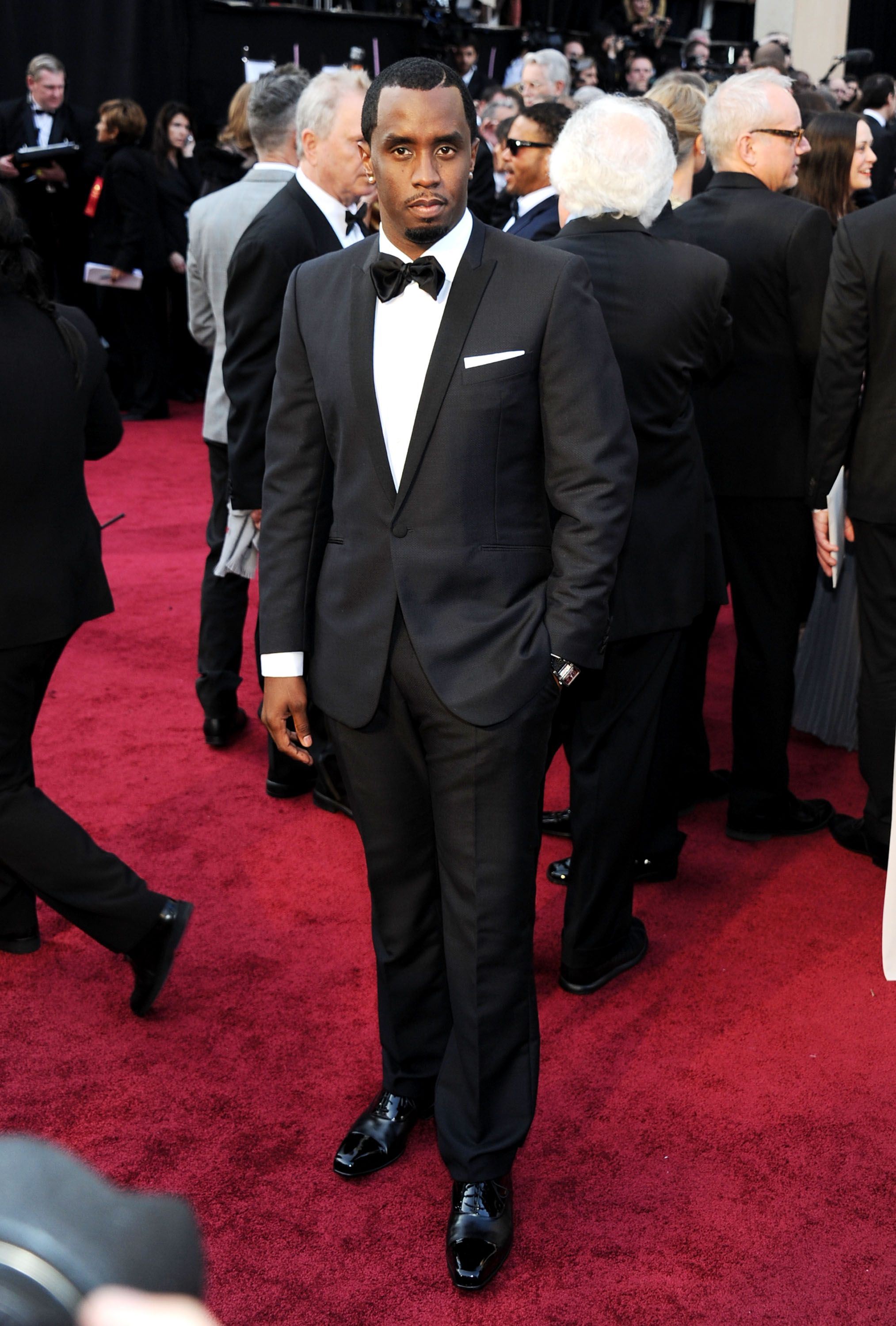 HOLLYWOOD, CA - FEBRUARY 26: Musician Sean 'Diddy' Combs arrives at the 84th Annual Academy Awards held at the Hollywood & Highland Center on February 26, 2012 in Hollywood, California. (Photo by Michael Buckner/Getty Images)