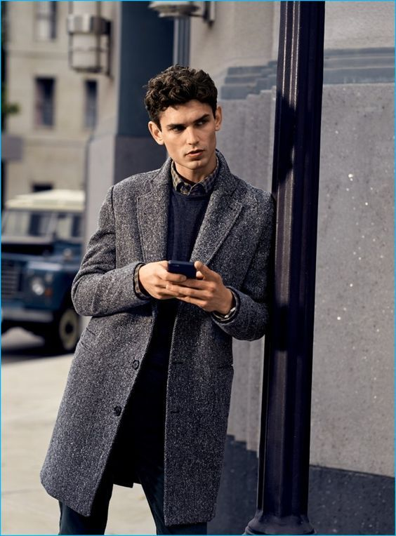 Grey On Grey Mens Fashion