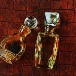 Two vintage perfume