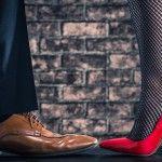 「サントーニ」イタリアらしい革靴、彫りの深い美しさに見惚れる。