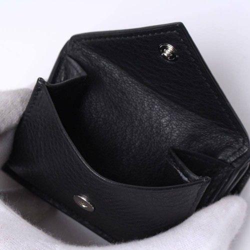 バレンシアガペーパーミニウォレット三つ折りミニ財布の小銭入れ