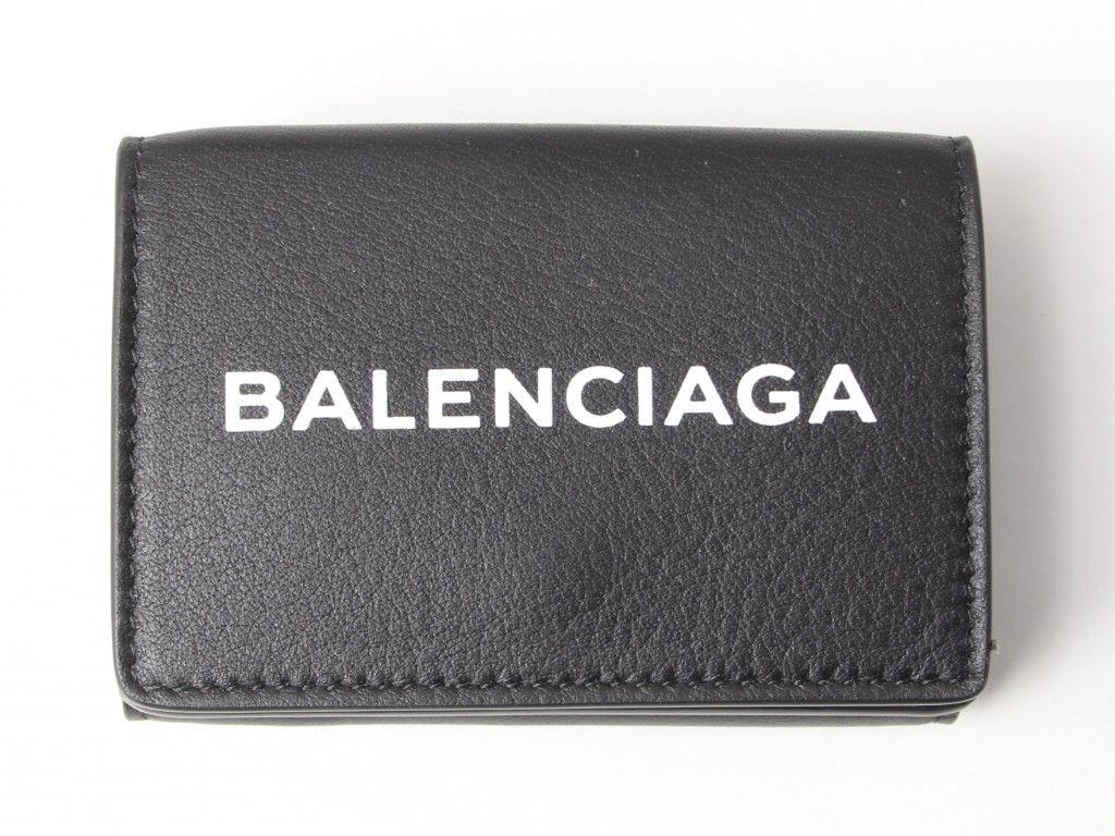 バレンシアガ三つ折りミニ財布