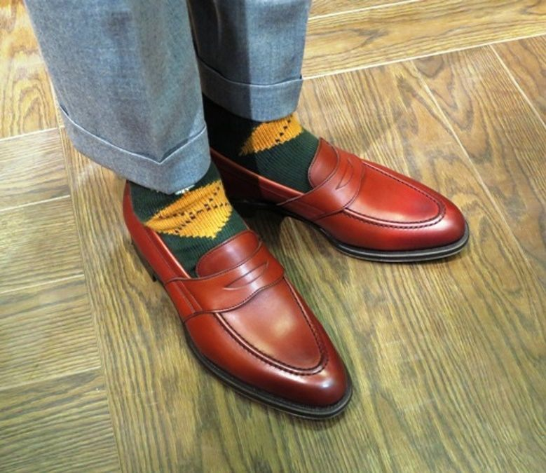4.Wearing-Brown-Loafer