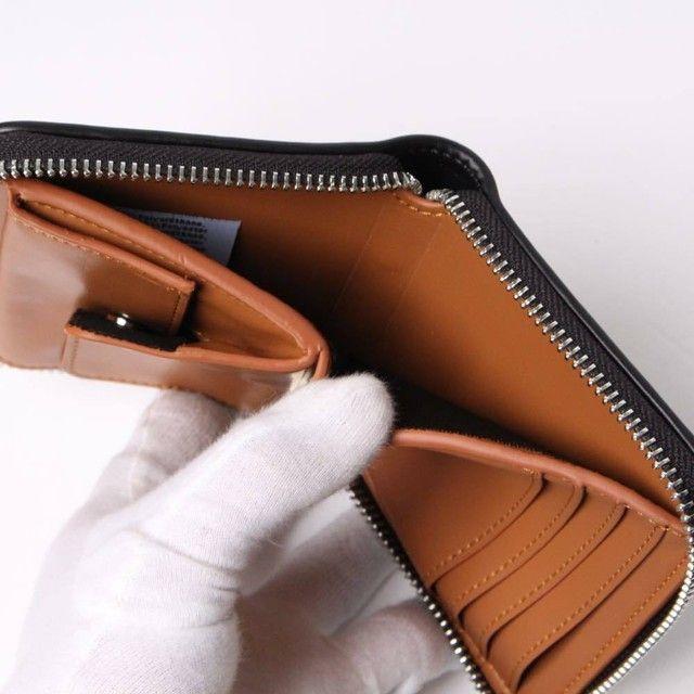 A.P.C(アー・ペー・セー) Morgan Compact Wallet紙幣コンパートメント