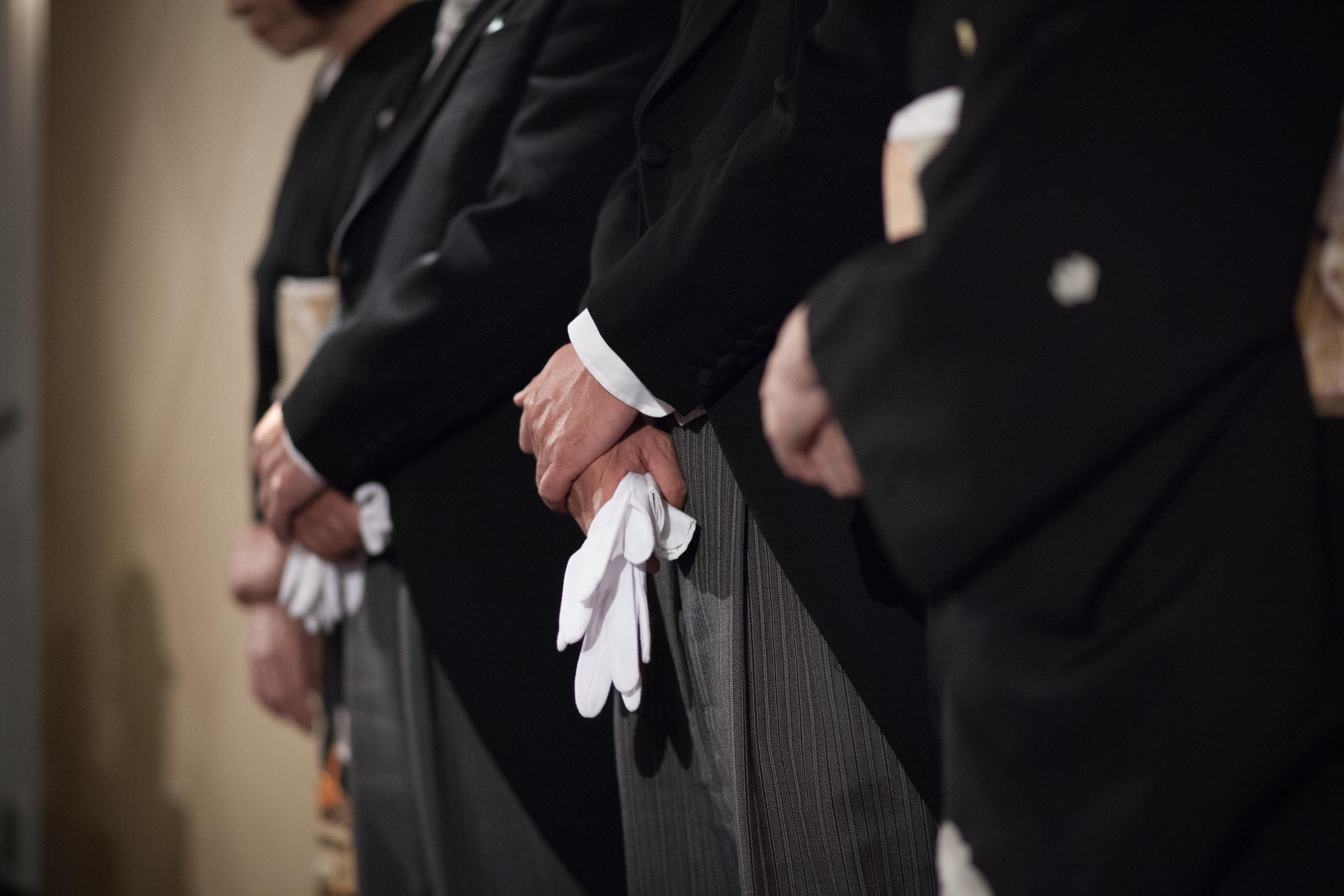 親族の結婚式のネクタイ