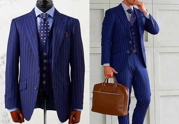 グローバルスタイルのスーツ紹介
