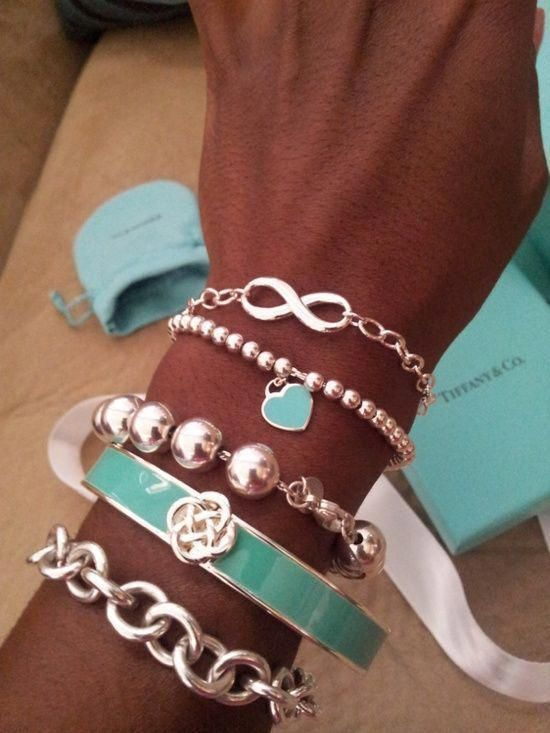 outlet store 7dfe7 39559 Tiffany & Co.(ティファニー) 」のブレスレットで品の良い大人の ...
