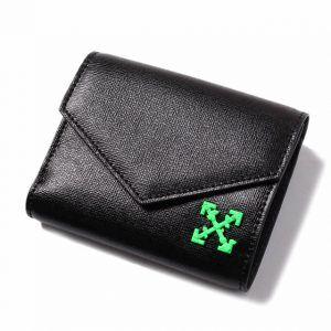 off-white(オフホワイト)のレディース三つ折り財布