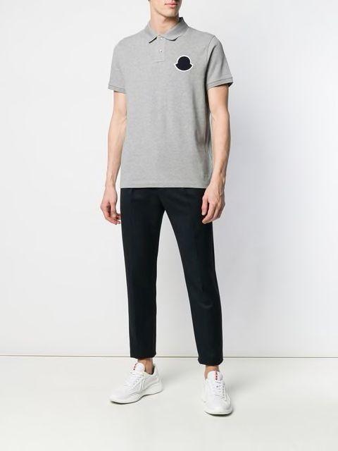 MONCLER(モンクレール)のポロシャツを使ったコーディネート