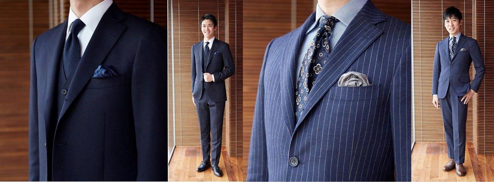 かっこいいスーツ