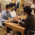 【訪問レビュー】 HANABISHI(花菱)で国内縫製高品質スーツを仕立てる!1着46,200円〜